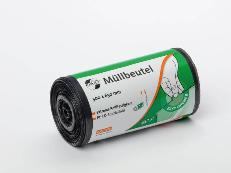 Müllbeutel - 30 Liter - grau