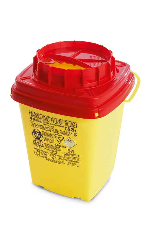 Kanülen- Entsorgungsbox -  3 Liter
