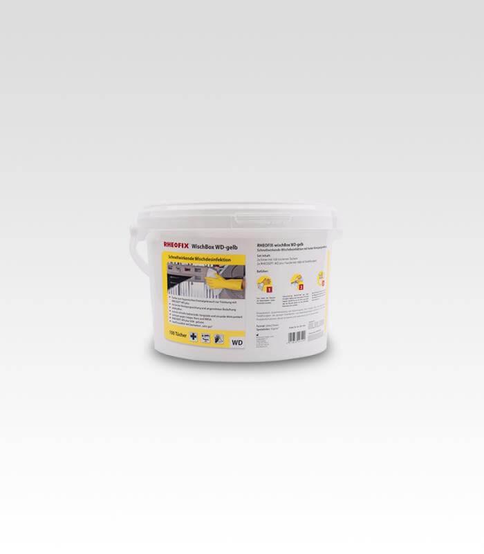 RHEOFIX-wischBox WD-gelb