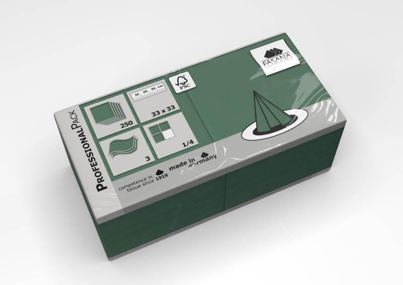 Fasana Servietten - emerald green
