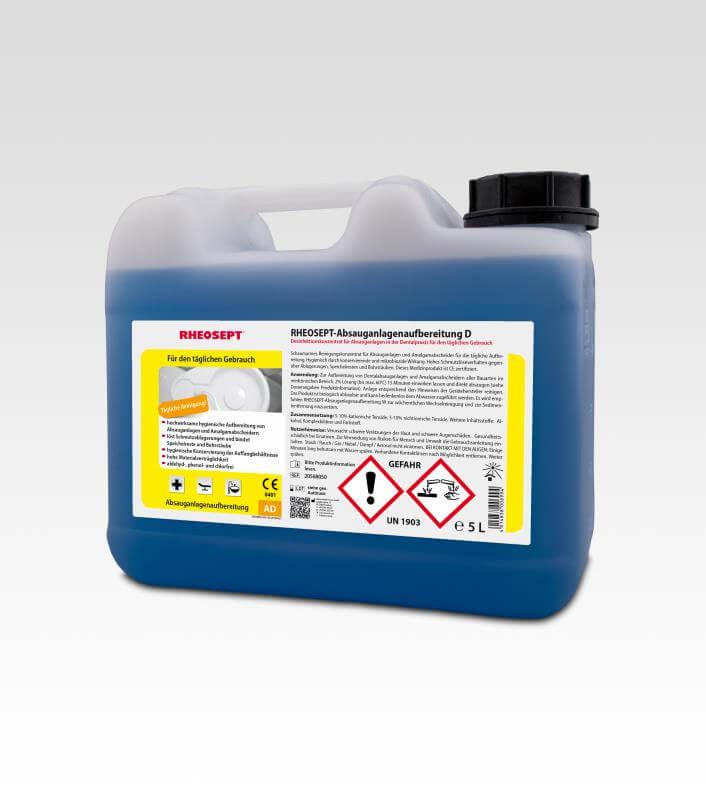 RHEOSEPT-Absauganlagenaufbereitung D - 5 Liter