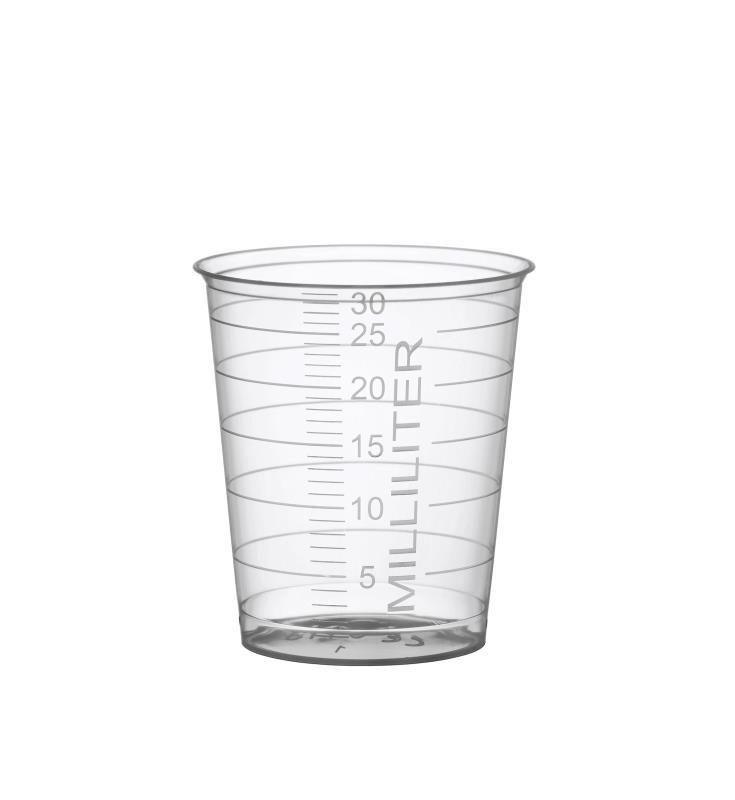 Medizinbecher - 30 ml