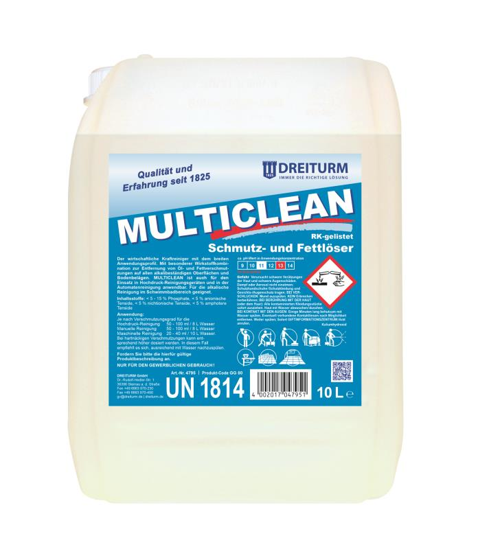 Dreiturm MULTICLEAN - 10 Liter