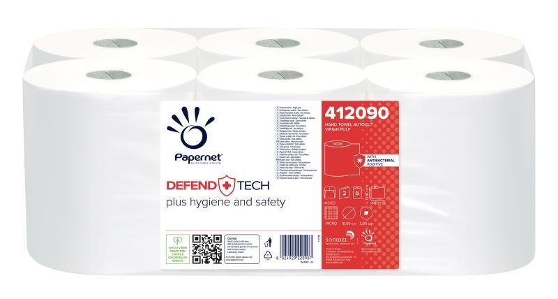 DefendTech - Rollenhandtuch - 2-lagig