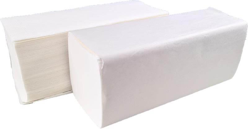 Falthandtuchpapier - 2-lagig - Z-Falz