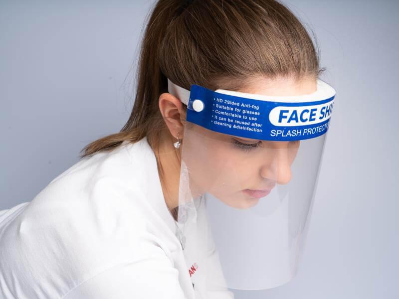 Face Shield - Einweg-Schutzschild
