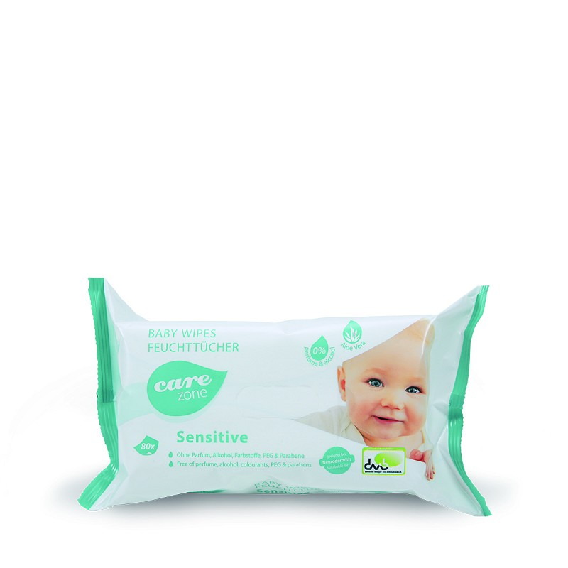 care zone BABY WIPES SENSITIVE
