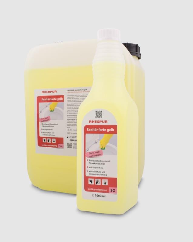 RHEOPUR-Sanitär forte gelb - 1000 ml