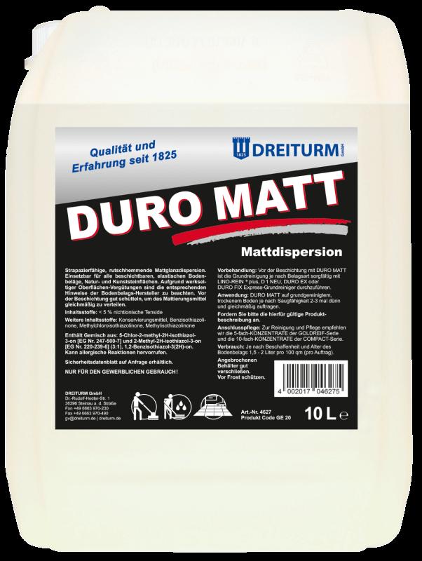 Dreiturm DURO MATT - 10 Liter