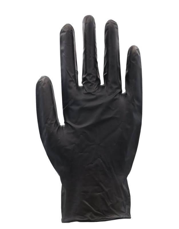 Vitril-Handschuh - schwarz