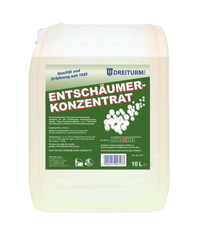 Dreiturm ENTSCHÄUMER-KONZENTRAT - 10 Liter