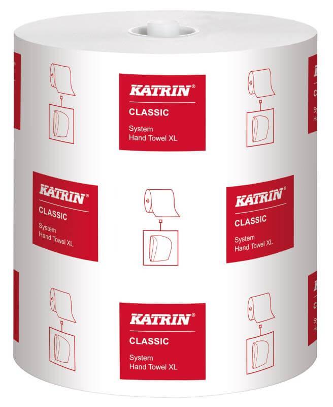 Katrin Classic System Rolle XL - 1-lagig - weiß