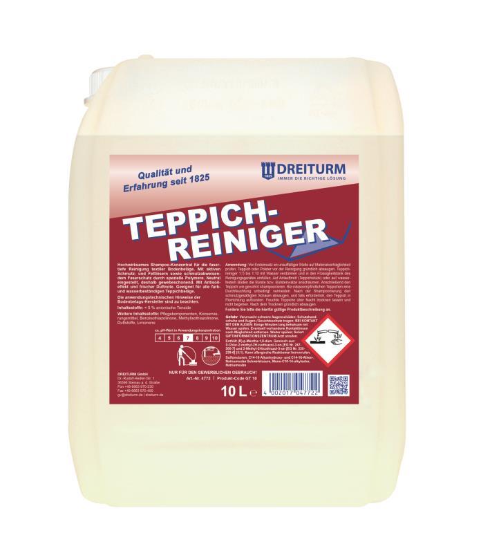 Dreiturm TEPPICHREINIGER - 10 Liter