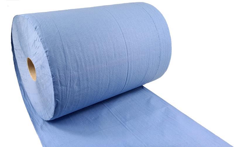 Putztuchrolle - 3-lagig - blau