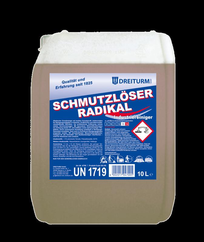 Dreiturm SCHMUTZLÖSER RADIKAL - 10 Liter