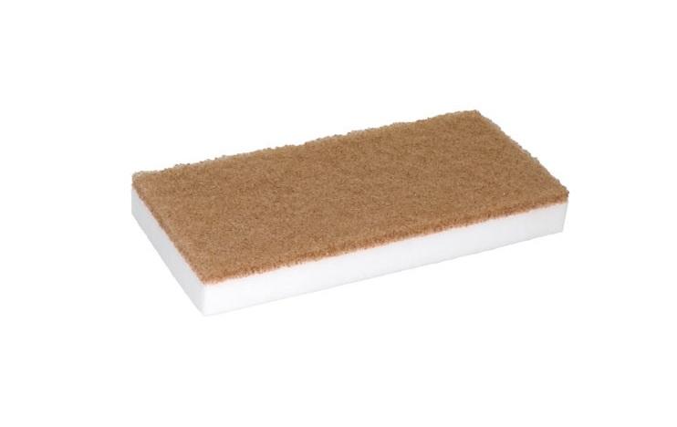 Melamin Pad Premium Weiß/Beige - 11,5 x 25 cm