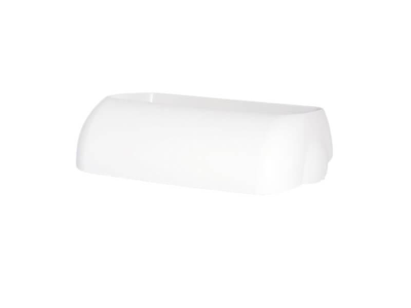 Deckel für Mülleimer - 25 Liter - weiß