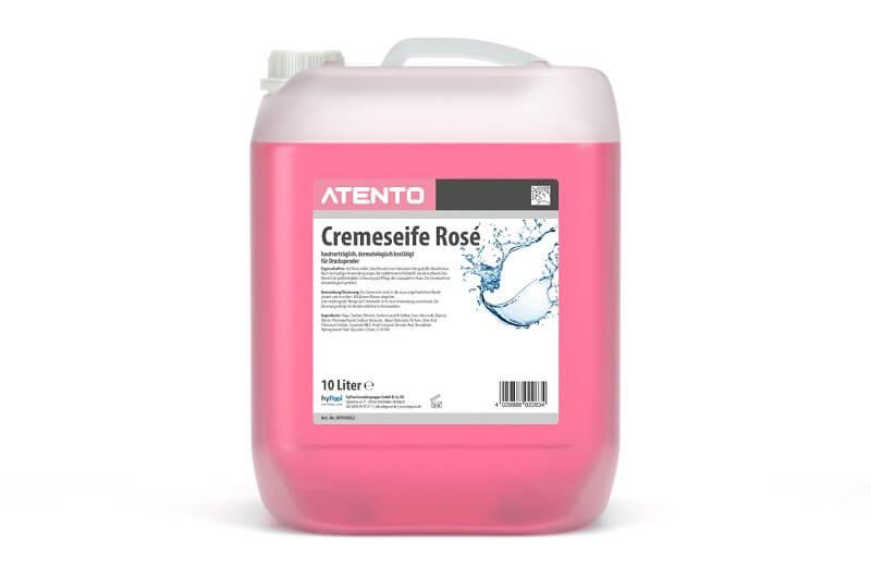 ATENTO Cremeseife rose - 10 Liter