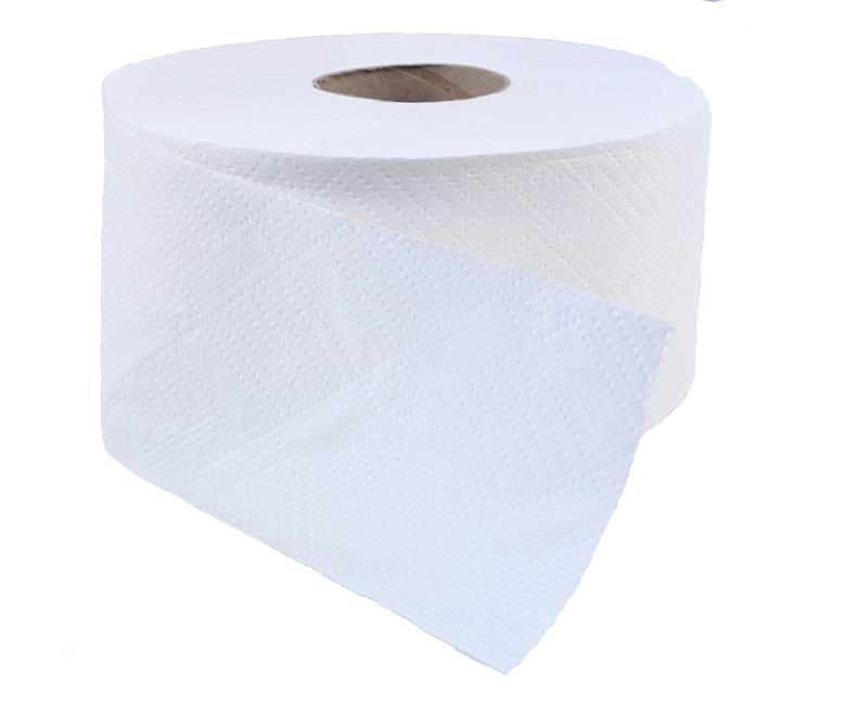 Mini-Jumbo Toilettenpapier 2-lagig, hochweiß