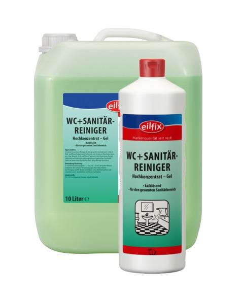 eilfix WC+ SANITÄRREINIGER - grün